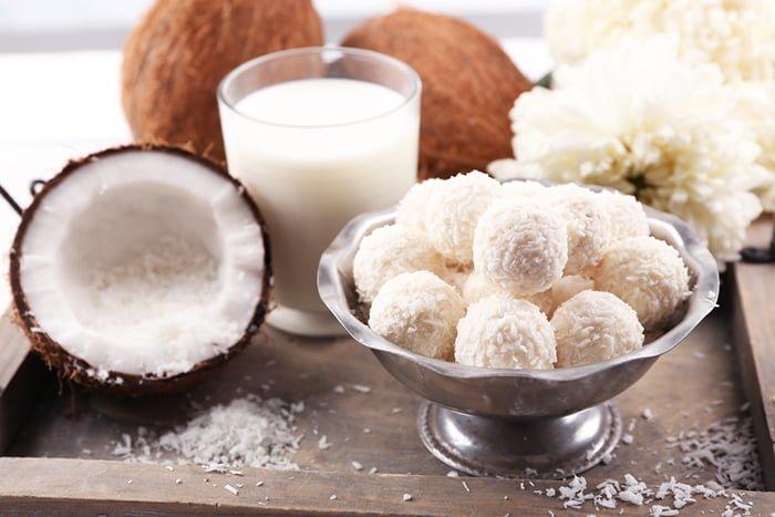 ингредиенты для домашних конфет рафаэлло