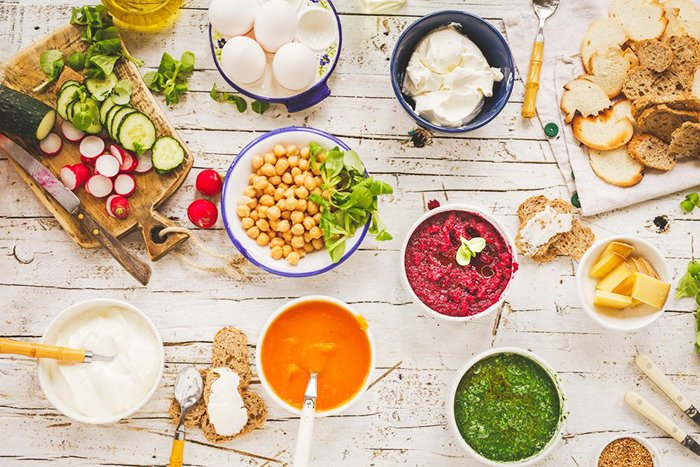 вегетарианский рацион питания