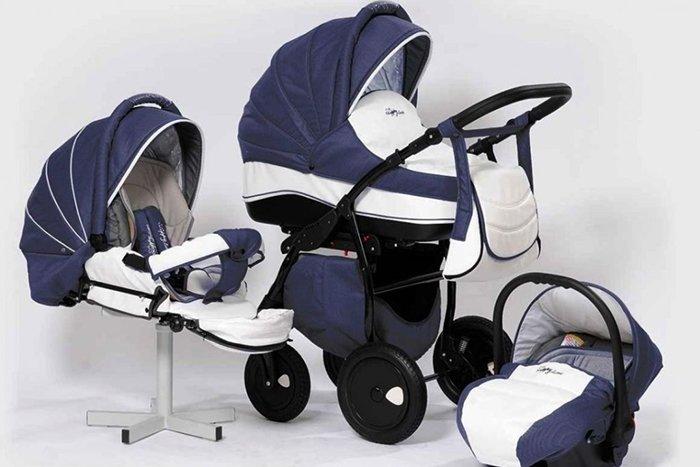 детская коляска трансформер 3 в 1