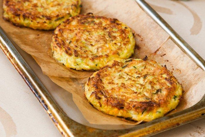 рецепт оладьев из кабачков для кормящих мам