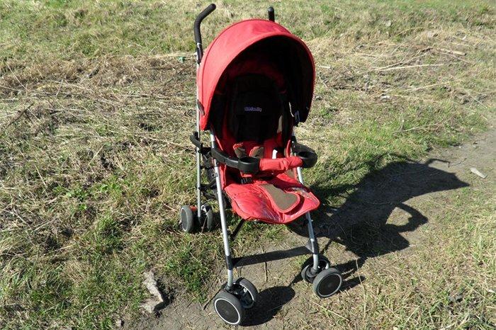 детская коляска на лето