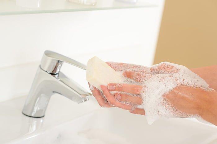 мытье рук при лечении остриц