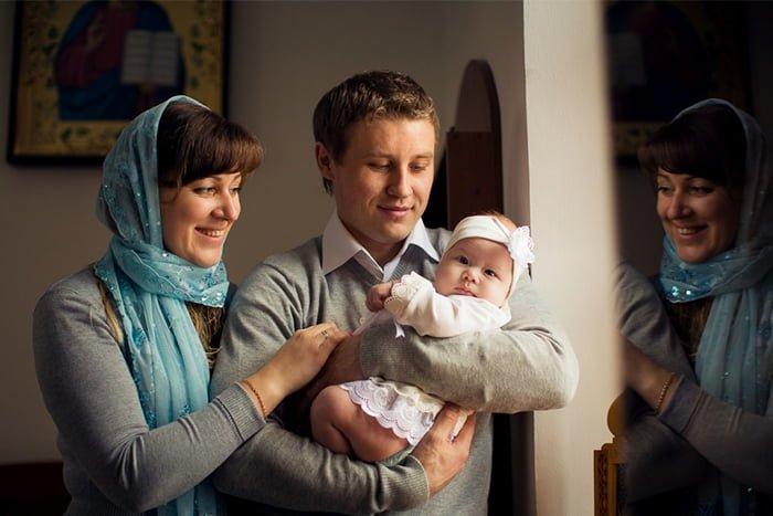 крестный отец и крестная мать