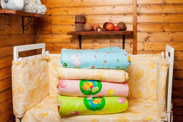 одеяло на синтепоне для новорожденного