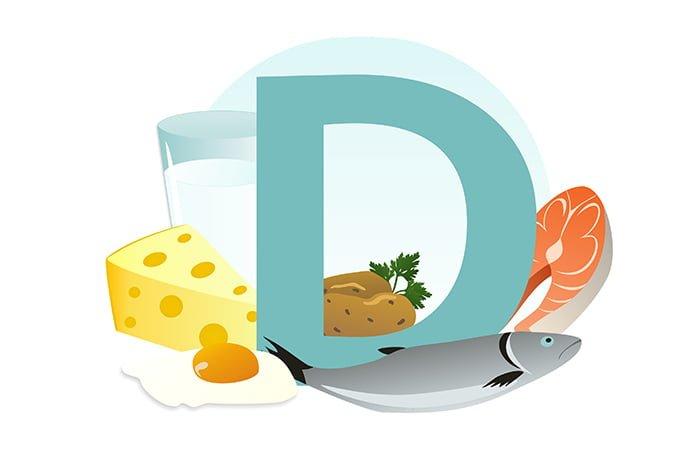 источник витамина д в продуктах