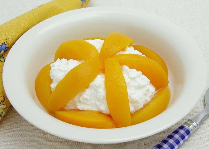 Рецепты с персиком для детей