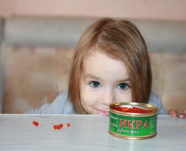 С какого возраста можно красную икру детям
