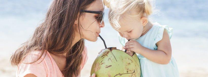 Когда можно кокосовое молоко и кокос детям