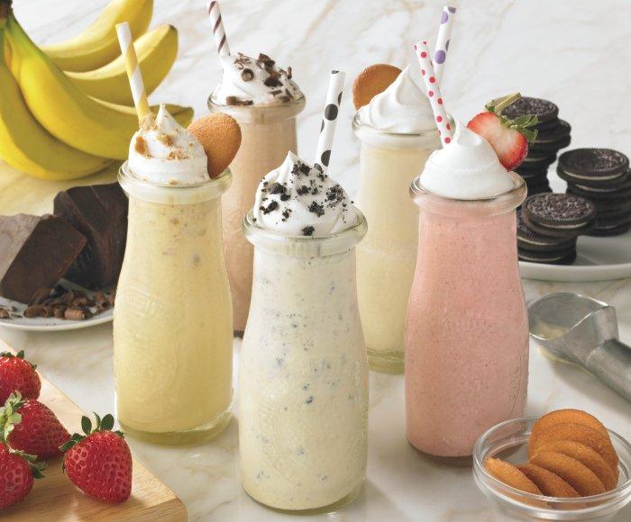Как приготовить молочный коктейль детям