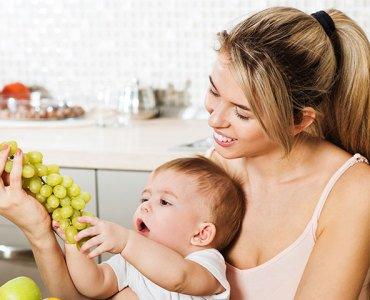 С какого возраста можно давать виноград детям