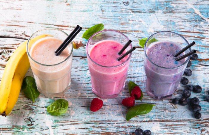 Рецепты молочных коктейлей для детей