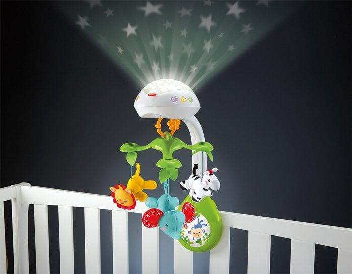 Ночник-проектор для новорожденных