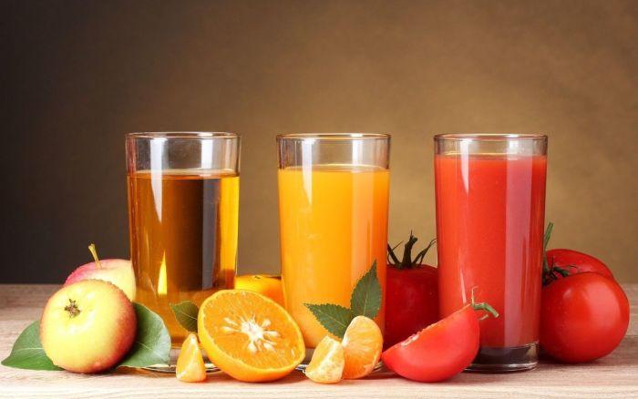 Что полезнее соки или фрукты