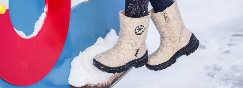 Как определить размер зимней обуви ребенка