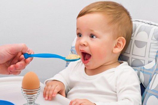 С какого возраста можно яйца детям