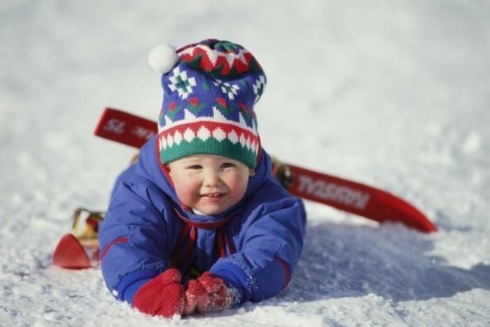 Как выбрать детские лыжи