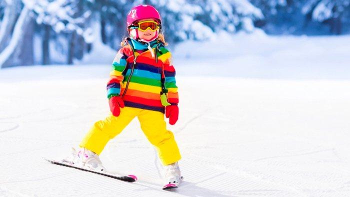 Как одеть ребенка на лыжную прогулку