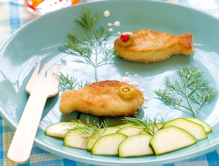 Рыбные котлеты для детей