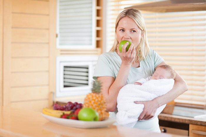 питание молодой мамы