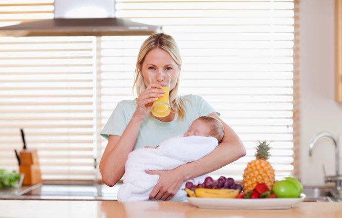принципы питания при грудном кормлении