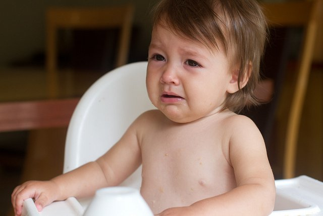 baby sad