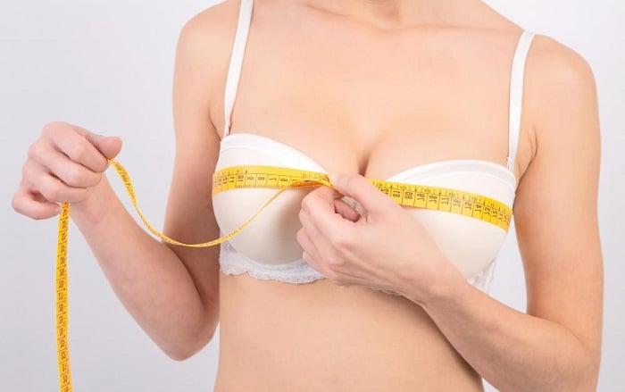 Размер накладок на грудь