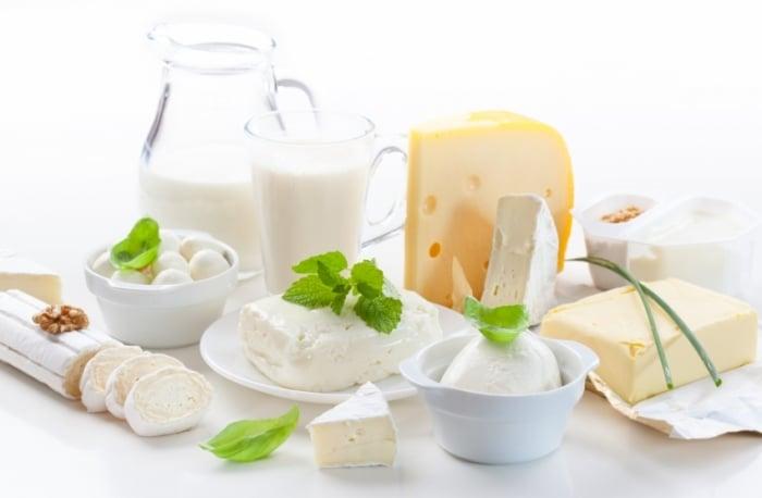 Молочные продукты при ГВ