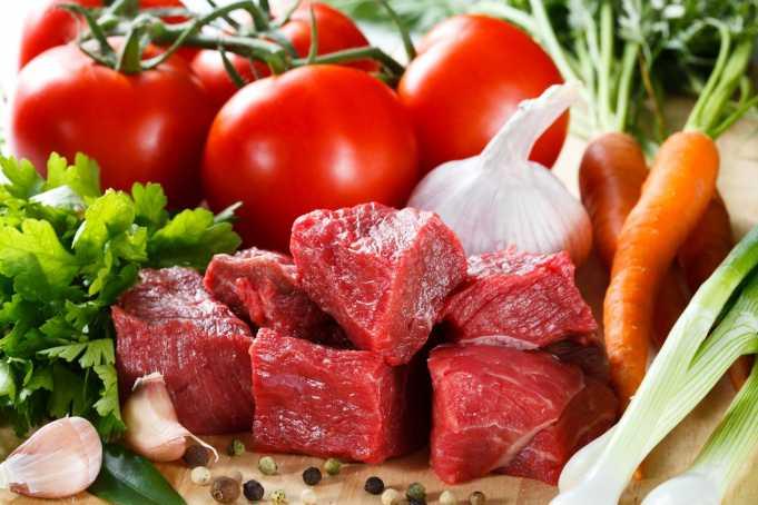 Мясо для кормящей мамы