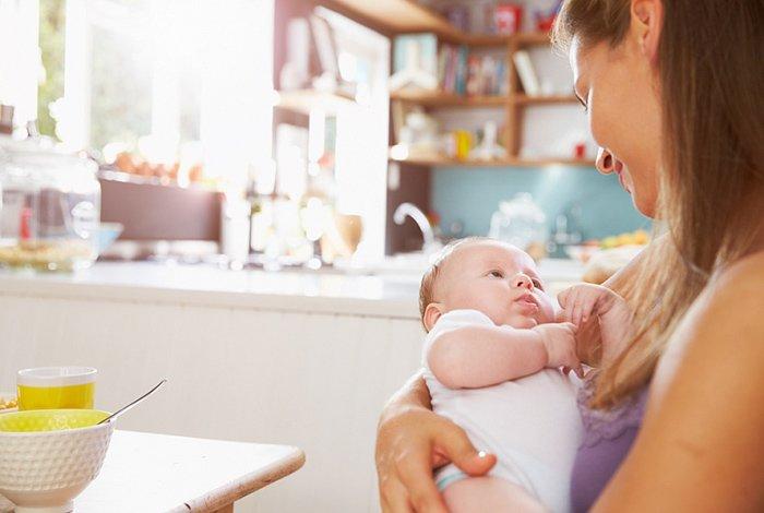 Питание мамы после родов