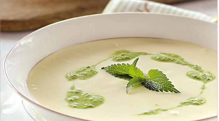Суп с крапивой