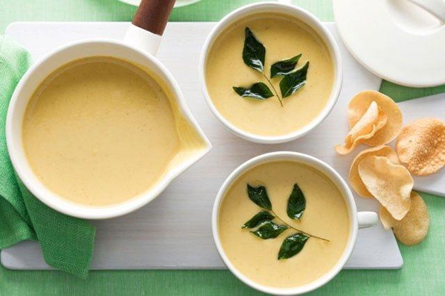 Суп пюре по индийски