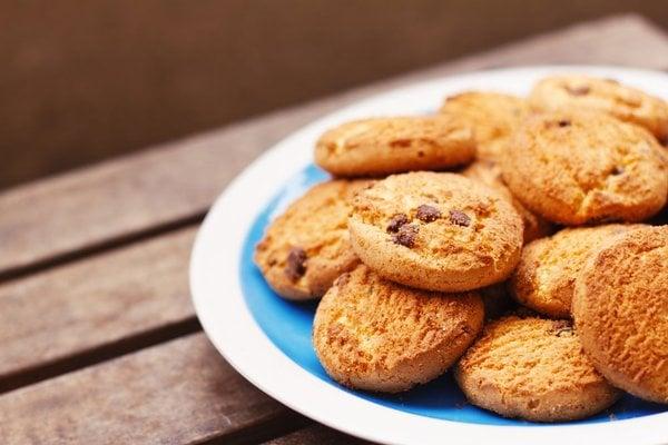 Овсяное печенье с фундуком