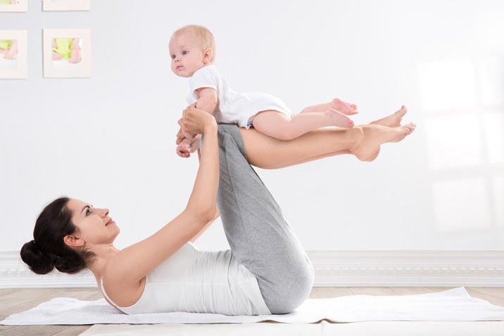 Физические упражнения при лактации
