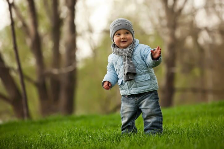 Как одеть ребенка на прогулку