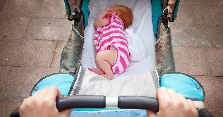 Прогулка с новорожденным летом