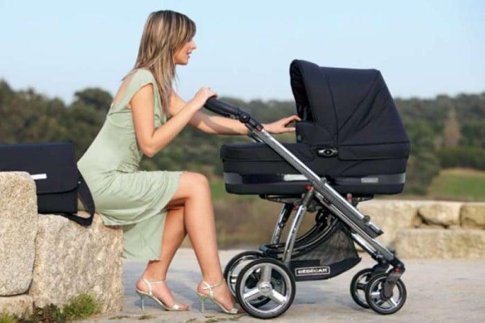Прогулки с новорожденным в 1 месяц