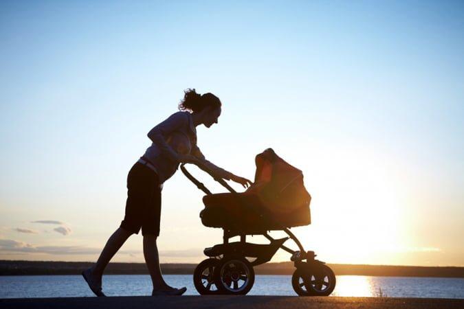 Прогулки с ребенком в 2 месяца