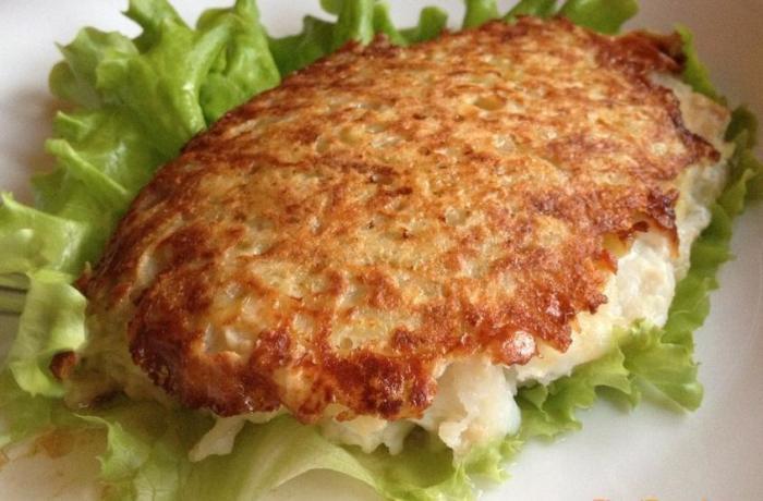 рыба в картофельном кляре