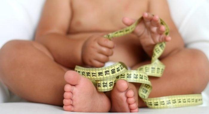 скачок роста у младенца