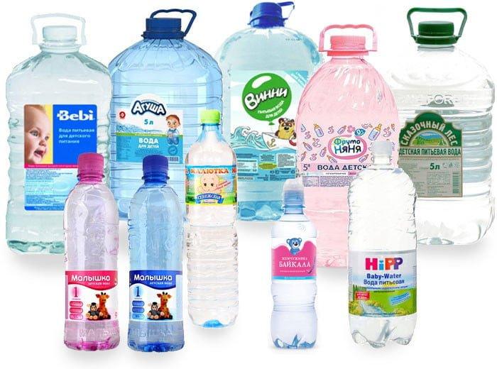 вода для разведения детских смесей