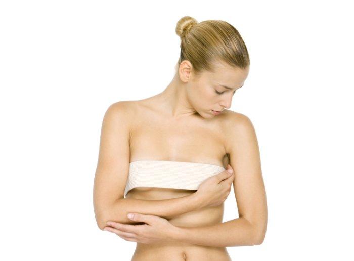 перевязывание груди