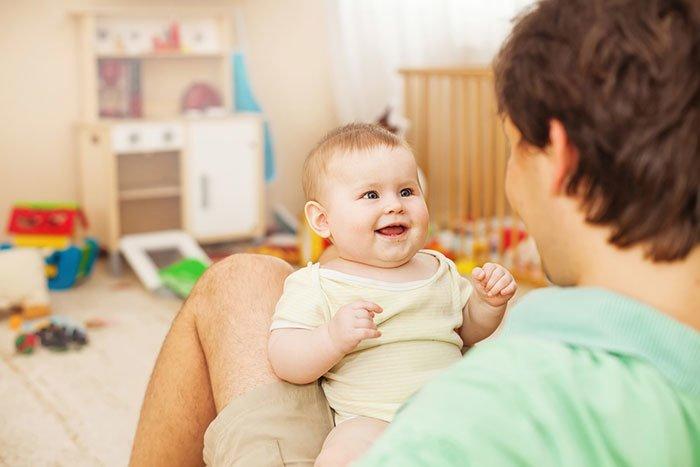 ребенок начинает разговаривать