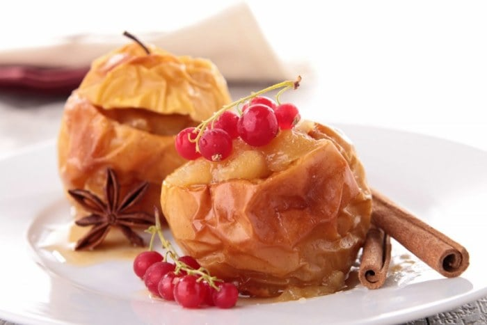 печеные яблоки при грудном вскармливании