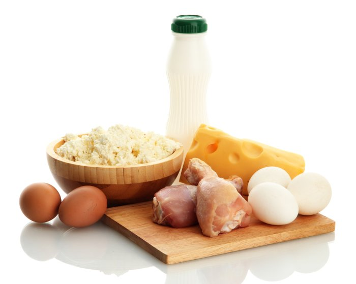 продукты с содержанием белка при грудном вскармливании