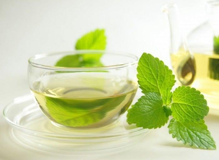 чай с мятой при гиперлактации