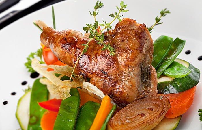 кролик с овощами для кормящей мамы