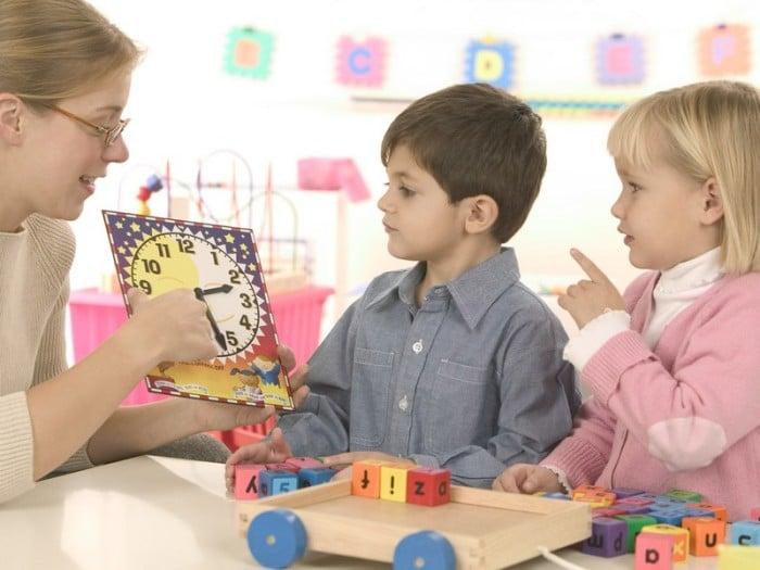 картонные часы для обучения времени ребенком