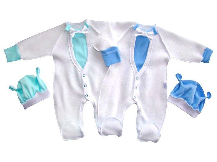 одежда с наружными швами для младенцев