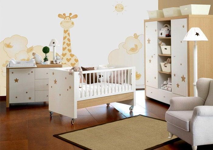 оформление детской кроватки