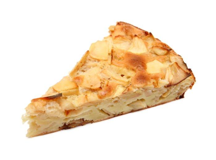 йогуртовый торт с яблоками при грудном вскармливании